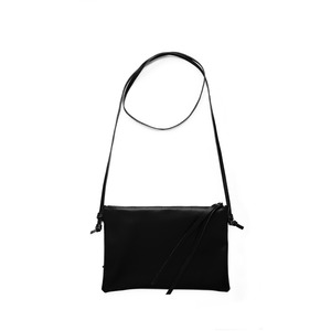Lederhandtasche LILLY aus Leder - Schwarz - ELEKTROPULLI