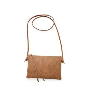 Lederhandtasche LILLY aus Leder - Braun - ELEKTROPULLI