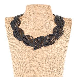 Sweet Cherry Statement Halskette aus recyceltem Kautschuk - SAPU