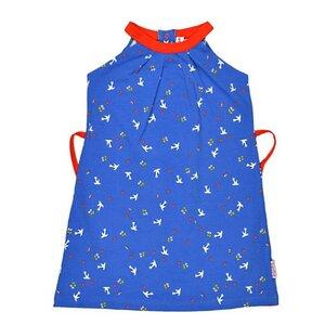 Neckholder Kleid Tauben doves - Baba Babywear