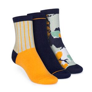 3er Pack Socken Mittelhoch // Vertical/Easy Stripe/Blossom - THOKKTHOKK