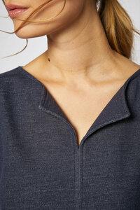Kleid aus Bio-Baumwolle GOTS - denim - Lanius