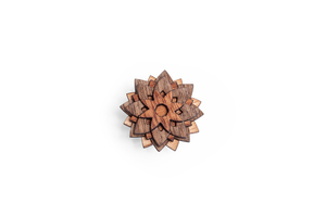 Holzanstecker African Flower - BeWooden