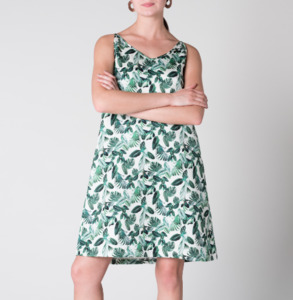 Kleid TRIANGLE Jungle Print - JAN N JUNE