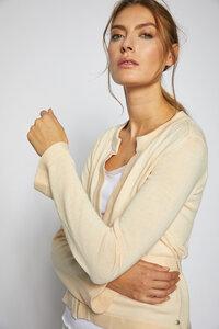 Strickjacke aus Bio-Baumwolle GOTS - Lanius