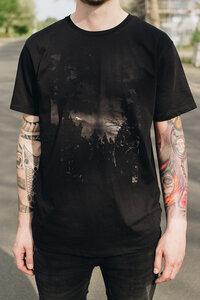 Bio Faires Herren T-Shirt 'Mountain' _black - ilovemixtapes