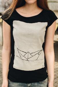 Biofaires Damen Raglan T-Shirt Paperboat 2.0 - ilovemixtapes