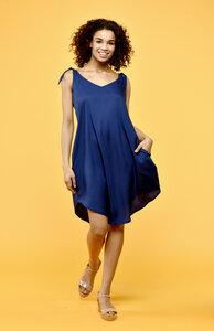 Alyssa Kleid blau - Flowmance