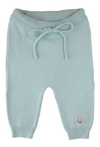 Baby Strickhose hellblau Bio - EBi & EBi