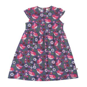 Jasmine Dress Autumn Birdies - Frugi