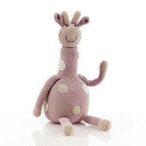 Giraffe aus organischer Baumwolle - Pebble