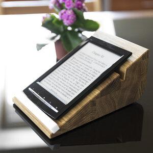 Tablet Halter tablojdo 8 für iPad, Kindle E-Reader, E-Book. Buchstütze - Holzbutiq