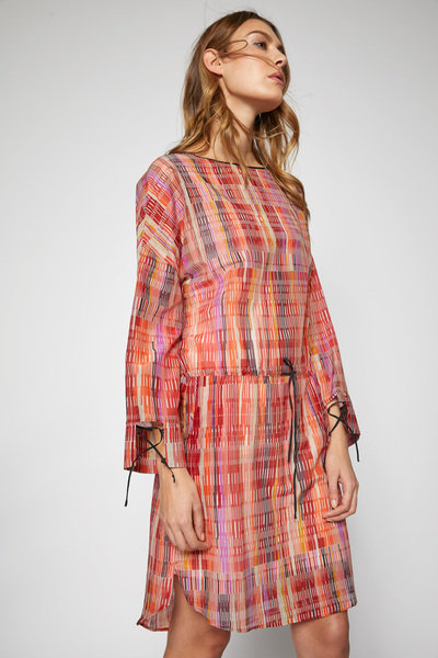 6ba3fcc0ebee LANIUS - Kleid aus Bio-Baumwolle mit Seide Print Ethno   Avocadostore