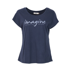 IMAGINE - Damen - Loose Cut T-Shirt für Yoga ond Freizeit aus 100% Biobaumwolle - Jaya