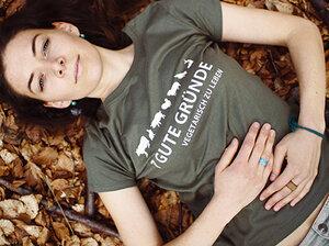 Vegetarier-Shirt Damen - Tender Loving Clothing by Mantisworld