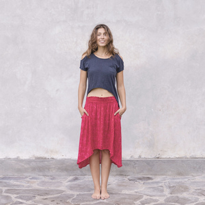 Rock Sylvie, paisley red - Jaya