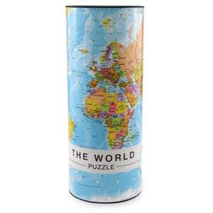 Weltpuzzle Englisch THE WORLD 1000 Teile - Die gesamte World 68 x 48 cm - Extragoods