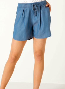 Shorts aus Tencel® Denim - ORGANICATION