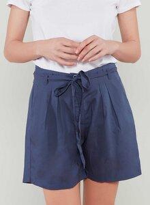 Shorts aus Tencel® mit Bindegürtel - ORGANICATION