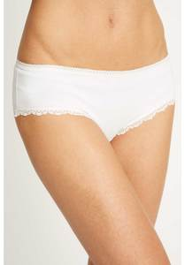 UMGELAGERT -Slip - White Lace Hipster - People Tree