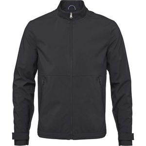 Soft Shell Jacket - Phantom - KnowledgeCotton Apparel