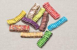 Papierperlenarmband MILANO - PEARLS OF AFRICA