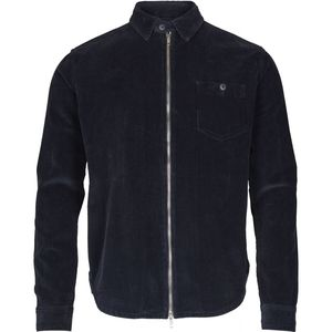Cord shirt jacket 8 Wales - Total Eclipse - KnowledgeCotton Apparel