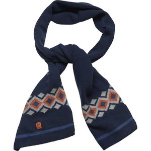 Schal - Jacquard scarf - Total Eclipse - KnowledgeCotton Apparel