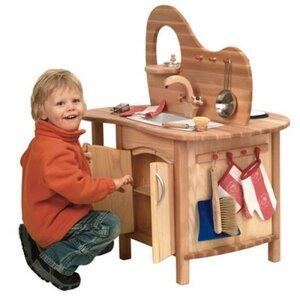 Spielküche aus Holz - Glückskäfer