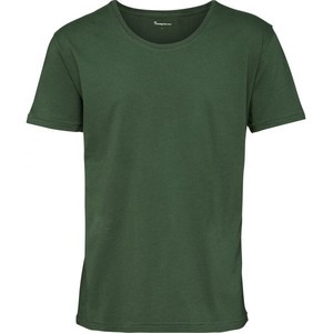 Basic Loose Fit O-Neck greener pastures - KnowledgeCotton Apparel