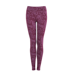 Leggings Leela, red wine - Jaya