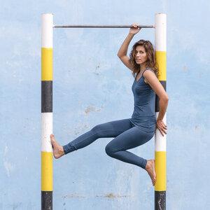 Jumpsuit Victoria, majolica blue - Jaya