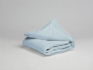 Kinderbettwäsche Baumwollsatin Sky Blue - Yumeko