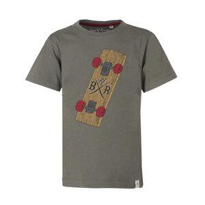 Plank - Cooles Jungen Skate T-Shirt Kurzarm aus 100% Bio-Baumwolle - Band of Rascals