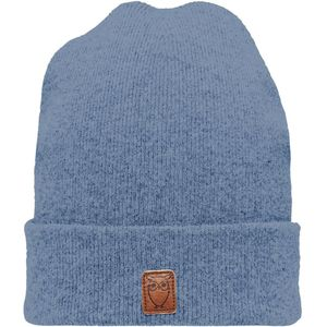 Beanie organic wool - Insigna Blue - KnowledgeCotton Apparel
