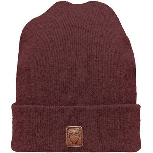 Beanie organic wool - Decadent Chokolade - KnowledgeCotton Apparel