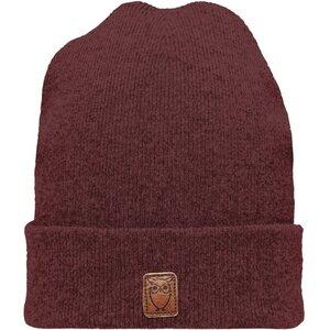 Mütze - Beanie organic wool - Decadent Chokolade - KnowledgeCotton Apparel