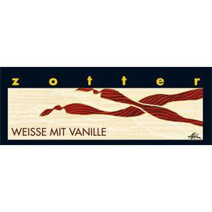 Trinkschokolade Weiße mit Vanille - Zotter