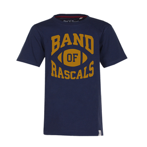 Football  - Cooles Football T-Shirt Kurzarm aus 100% Bio-Baumwolle - Band of Rascals