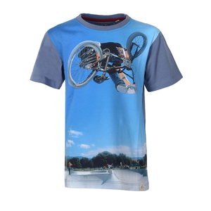 Digital BMX - Cooles BMX Kinder T-Shirt Kurzarm aus 100% Bio-Baumwolle - Band of Rascals