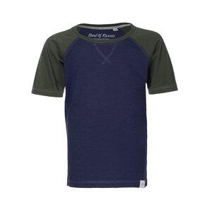 Raglan - Kinder Raglan T-Shirt Kurzarm aus 100% Bio-Baumwolle - Band of Rascals
