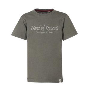 Logo -  Kinder T-Shirt Kurzarm aus 100% Bio-Baumwolle - Band of Rascals