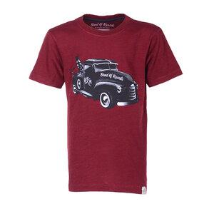 Tow Truck  - Cooles Kinder Abschlepper T-Shirt Kurzarm aus 100% Bio-Baumwolle - Band of Rascals