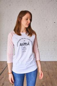 Baseball 3/4 - Unisex - Ahimsa - Róka - fair clothing