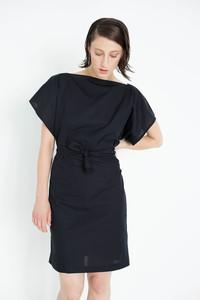 schlichtes Kleid in schwarz - Natascha von Hirschhausen