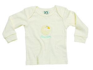 """Babyshirt , Body ,Langarmshirt  """"Gans klein"""" , 100 % Baumwolle (kbA) - PAT & PATTY"""