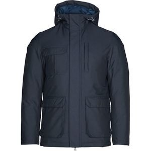 Winterjacke - Functional jacket oxford look - Total Eclipse - KnowledgeCotton Apparel