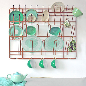 Küchen Wandregal aus Stahldraht - Puhlmann