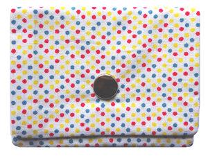 Leesha WILDe Upcycling Mini Portemonnaie Konfetti - Leesha