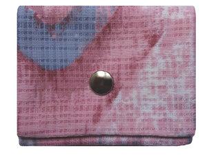 Leesha WILDe Upcycling Mini Portemonnaie Rosa Hauch - Leesha